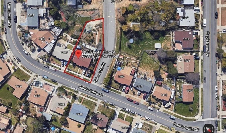 1405 Santa Anita Street, Oceanside, CA 92058 - 3 Beds, 1 Bath