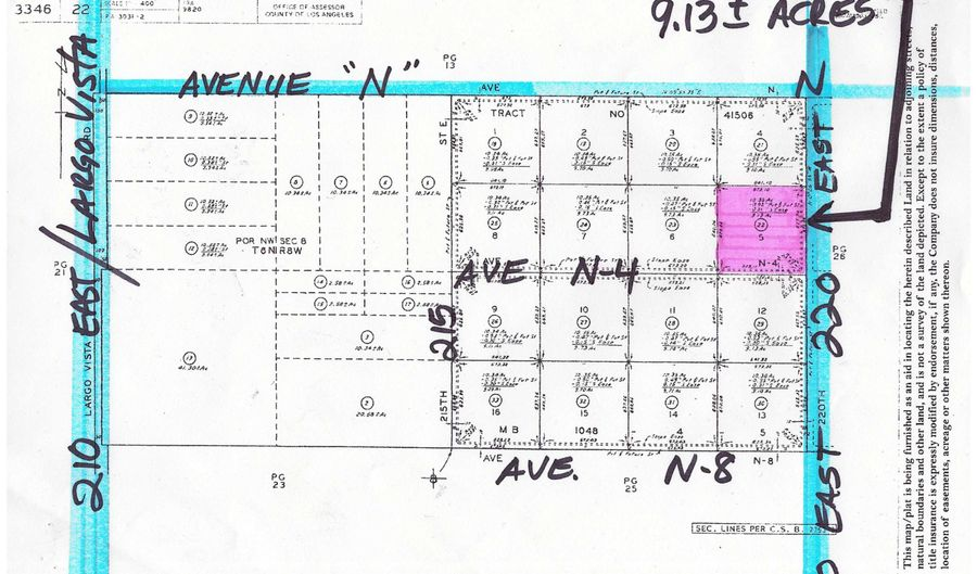 220 St East & N-4, Lake Los Angeles, CA 93591 - 0 Beds, 0 Bath